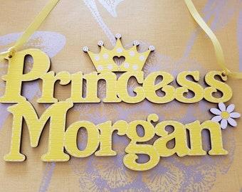 Princess wall/ door plaque