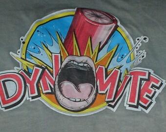 Vintage Dynomite 1970s 80s t-shirt