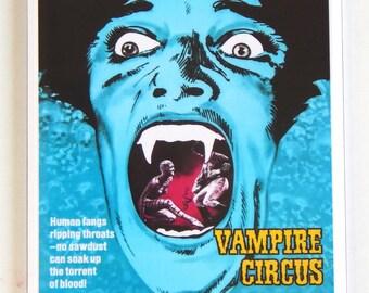 Vampire Circus Movie Poster Fridge Magnet