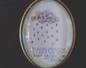 "Necklace and Medallion ""cloud"""