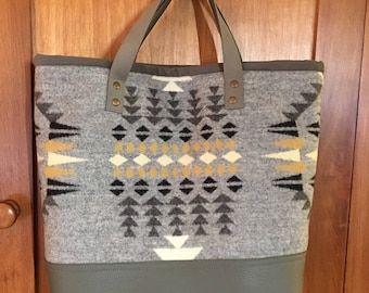 Native American Inspired Tote Bag