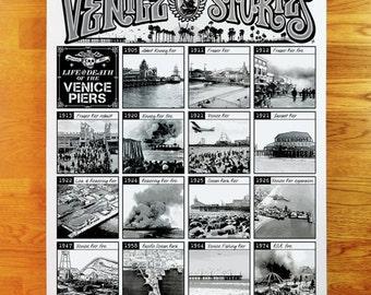 Venice Stories - Venice Piers print