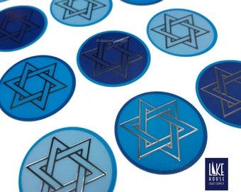 Star of David Stickers. Hanukkah Stickers. Bar Mitzvah, Bat Mitzvah Envelope Seals. Jewish Holiday Seals. Israel