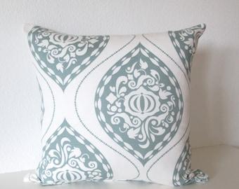 Dwell Studio Ogee Aqua Marine decorative pillow cover