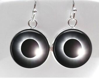 Solar Eclipse Earrings Total Solar Eclipse 2017 jewelry