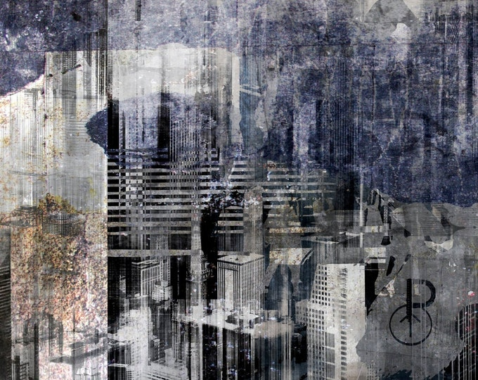 CHICAGO ART I B by Sven Pfrommer - Artwork is ready to hang