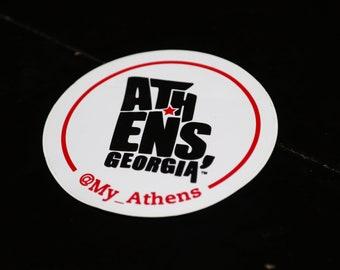 My Athens Sticker - 4x4
