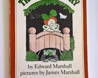 Troll Country by Edward Marshall --- Illustrated by James Marshall --- Vintage 1980's Children's Book --- Mythology Halloween Bedtime Story