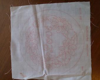 Embroidry Pattern Love Wreath