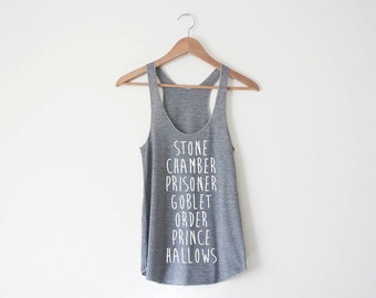 HP Women's Racerback Tank by So Effing Cute - Made in USA