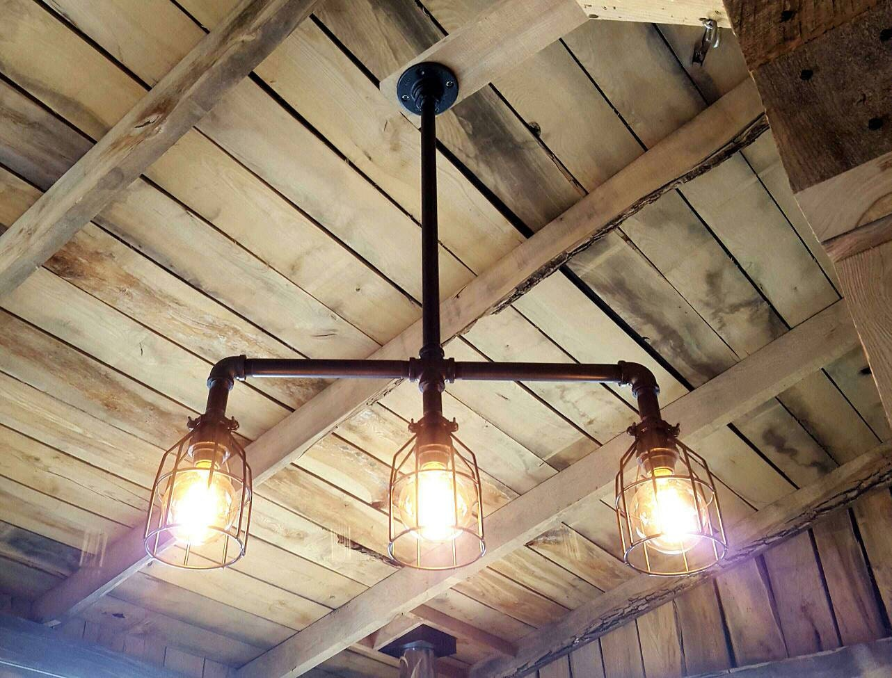 Rustic industrial lighting pool table light modern industrial zoom arubaitofo Choice Image
