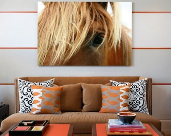 Horse Print, Horse Wall Art, Printable Large Poster, Horse Head Print, Horse Eye photo, Horse Printable, Brown Horse Print, Instant Download