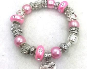 Daughter Charm Bracelet