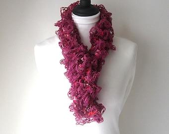 Pink ruffle scarf, sashay scarf pink, uk ruffle scarves, fashion scarf, boho scarf, ladies pink scarf, ladies ruffle scarf, light scarf