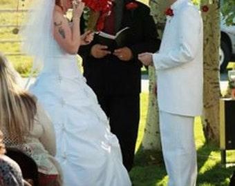 SHIPS NOW, Fingertip short wedding veil,  bridal single layer White, Ivory, Diamond white
