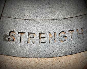 Photography Print Stone Strength