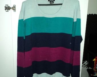 Castro Multi Color Sweater XXL