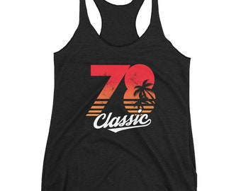 40th Birthday Gift For Women - Vintage 1978 Tank Top - 1978 Shirt - 40th Birthday Shirt - 40th Birthday - 40th Workout Tank Top -Custom year