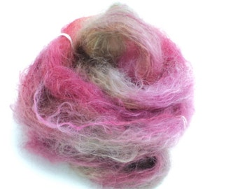 Candy, Hand Dyed, Hand Painted, Brushed Mohair, Yarn