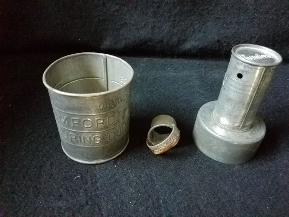 Rumford Measuring Cup & Biscuit Cutter