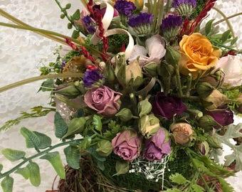 Dry Flower/ Dried Flower\Enchant preserve Rose Cup\dried flower\ Dry Flowers coffee / Floral\Everlasting\ forever\Center\Table flower piece
