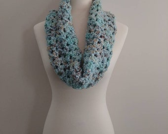 Coastal Sea Glass Inspired Scarf