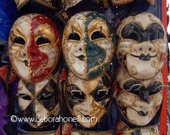 "Venice Photography ""Venice, Italy Six Masks"""