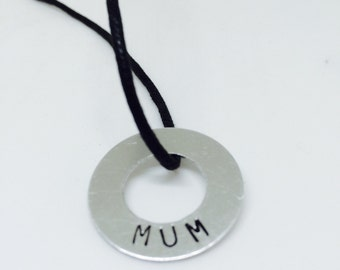 Mum gift, gift for her, gifts from kids, mum jewelry,  mother necklace, kids gift, mom gift, mothers day, word art,