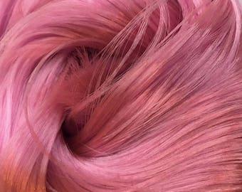 Pink Sapphire Nylon Doll Hair