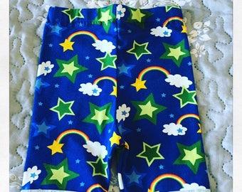 Handmade Rainbow Shorts