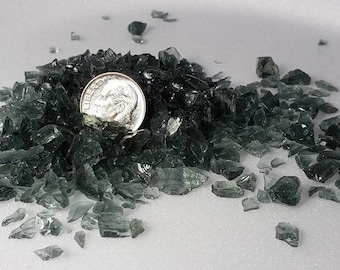 Crushed glass Gray 1# package  Size 1