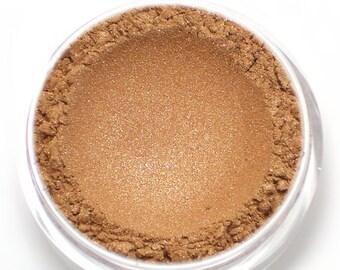 "Rosegold Eyeshadow - ""Citrine"" - Shimmer Vegan Mineral Eyeshadow"
