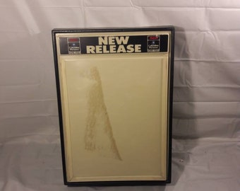 Vintage RCA New Release VHS Video Store Display Advertising
