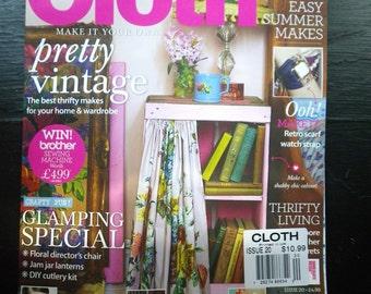 Cloth Magazine August 2013 Single Issue *