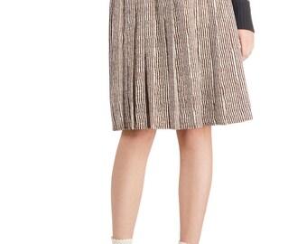 Safari Print Retro Skirt