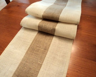 Burlap Table Runner Contemporary Burlap Table Runner Modern Rustic Home  Decor Custom Size Available Farmhouse Table Decor