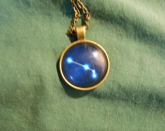 Zodiac star Aries necklace