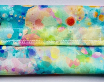 Watercolor Snack Pouch