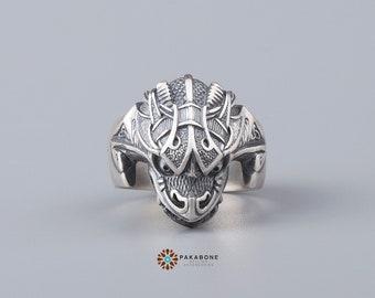 Viking Ring Jörmungandr Jormungand Midgard Serpent  Norse Style Viking Jewelry 001-312