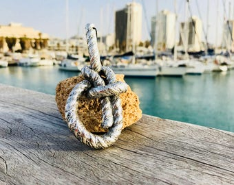sailor jewlery,handmade jewlery,knot jewlery ,naytical jewlery ,sealovers jewlery ,gift for him,knot neckless.can be gold plated-ask price