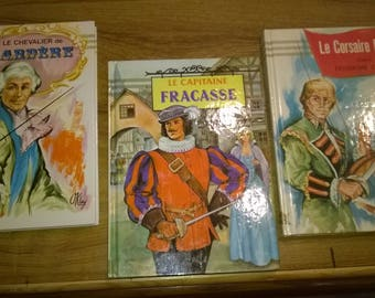 496) set of 3 hardcover books, youth
