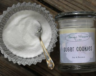 Sugar Cookies- Soy and Beeswax Candle
