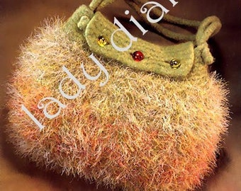 Pursenalities 20 Great Knitted and Felted Bags By Eva Wiechmann Purse Hand Bags Totes