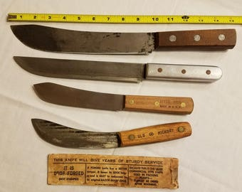 Vintage Butcher Knives