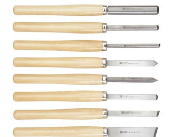 A Brand New Wood Lathe Tools Set woodworking carve furniture pieces, bowls & other handmade wood work