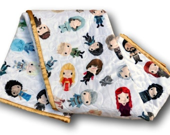 Game of Thrones Quilt * Game of Thrones Blanket * Game of Thrones Baby Gift * Game of Thrones * Game of Thrones Baby * Personalized Baby