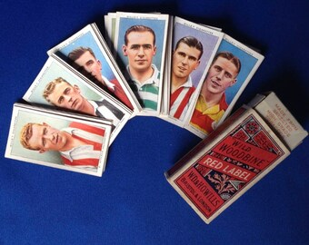 Wild Woodbine 1935 Football Cards