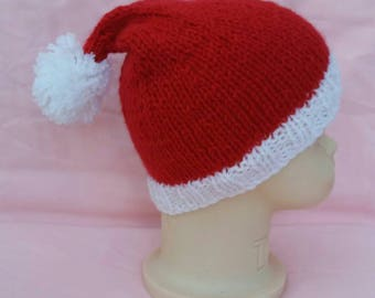 Santa baby hat, father christmas hat, christmas hat, christmas party, santa hat, first christmas, winter hat, xmas hat,  christmas outfit