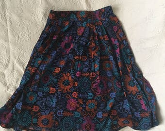 Colorful lightweight skirt