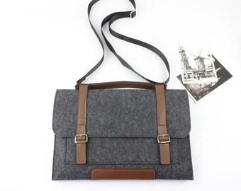 Felt Gift Macbook sleeve Macbook Air case, Macbook Pro sleeve, Macbook 12 13 15 Air Pro Retina Sleeve, laptop sleeve laptop case 049DG